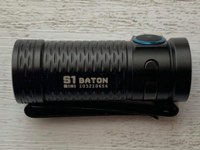 Olight S1 mini HCRI Batonレビュー