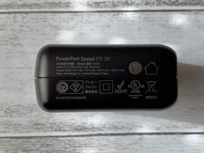 Anker PowerPort Speed 1 PD30レビュー