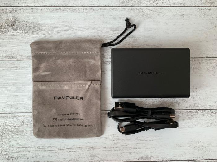 RAVPower モバイルバッテリー 10000mAhレビュー