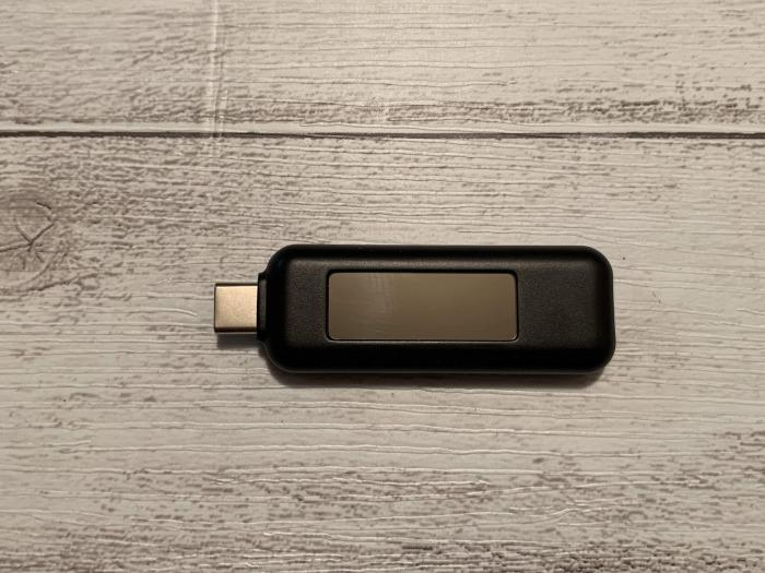 Plugable USB-C 電圧・電流チェッカー レビュー
