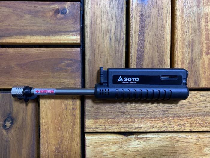 SOTOスライドガストーチST-480レビュー